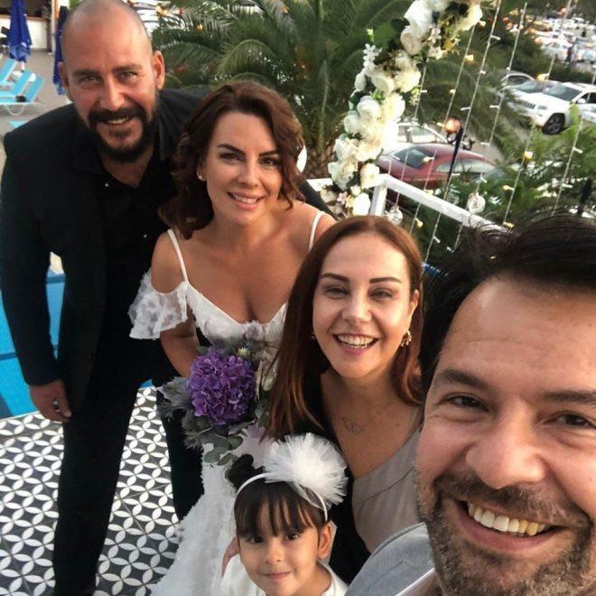 Seren Fosforoğlu evlendi