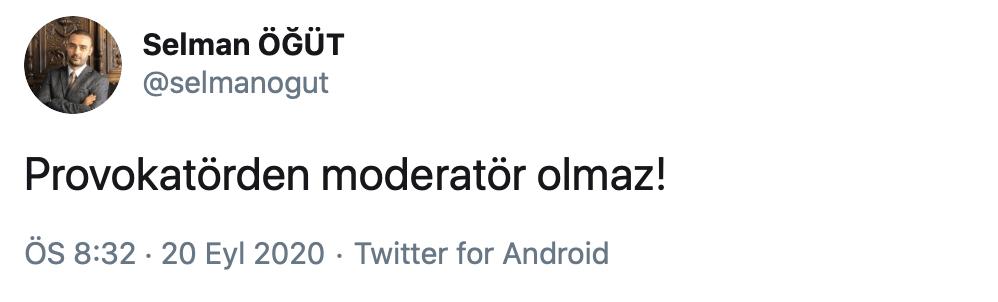 Kemalizm hakkında 'virüs' diyen Selman Öğüt, yayını terk etti!