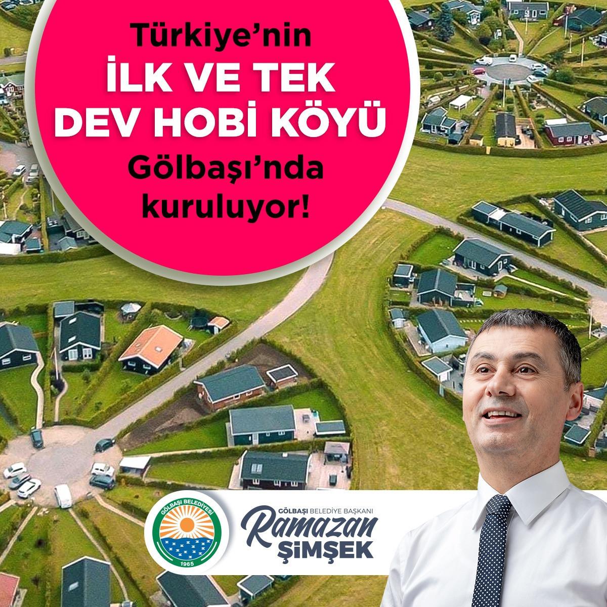 Atatürk'ün 'İdeal Cumhuriyet Köyü' projesi Gölbaşı'nda hayata geçiyor!