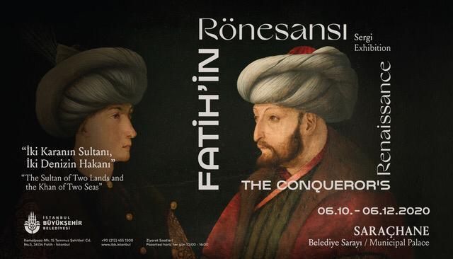 Fatih Sultan Mehmet tablosunun ilk ziyaretçisi...