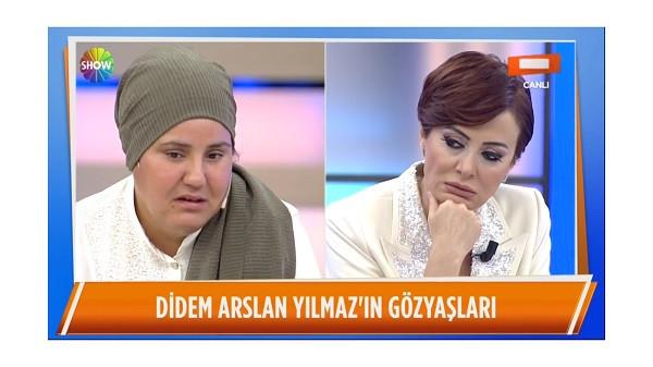 Didem Arslan Yılmaz gözyaşlarını tutamadı
