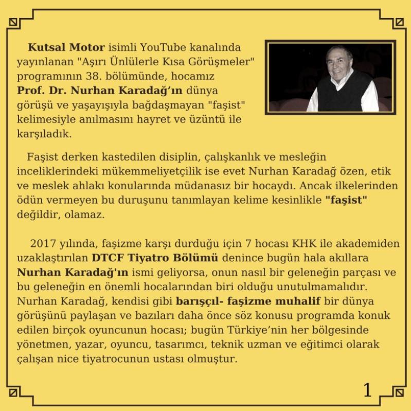 Barış Falay'ın konuk olduğu programa tepki!