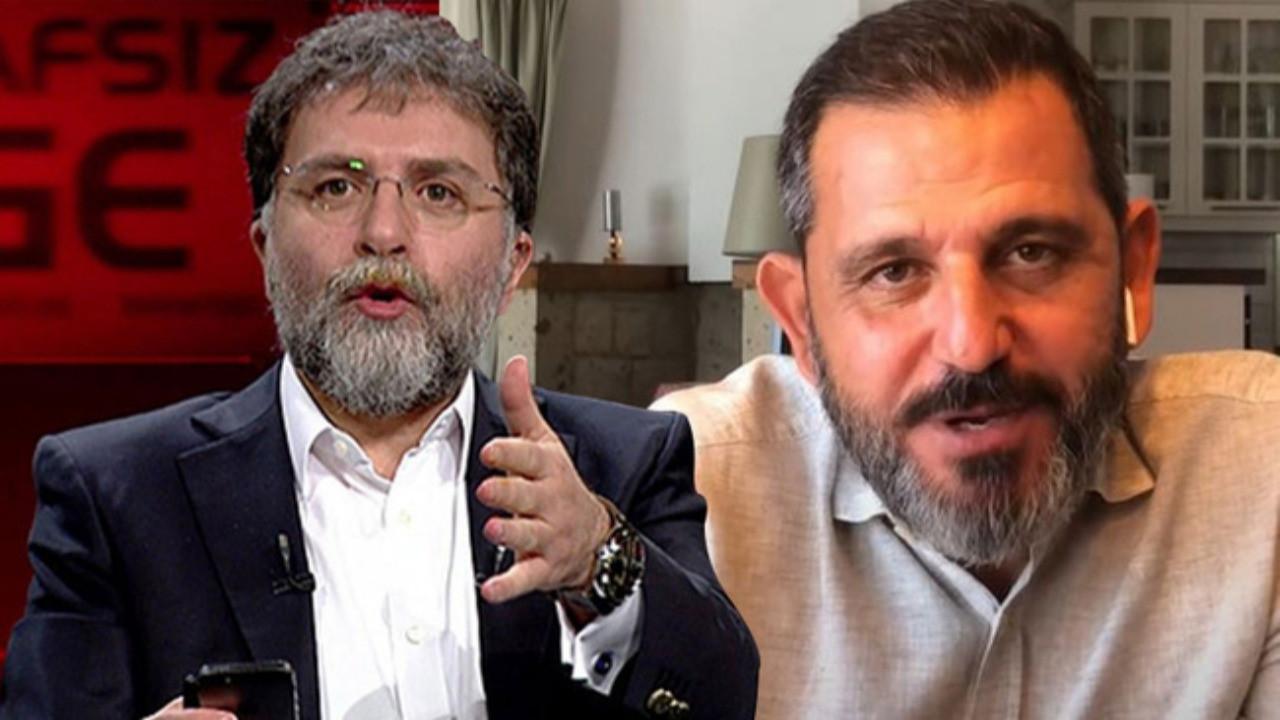 Ahmet Hakan'dan Fatih Portakal'a tepki: Zorla mı bıraktırdılar sana kardeşim?