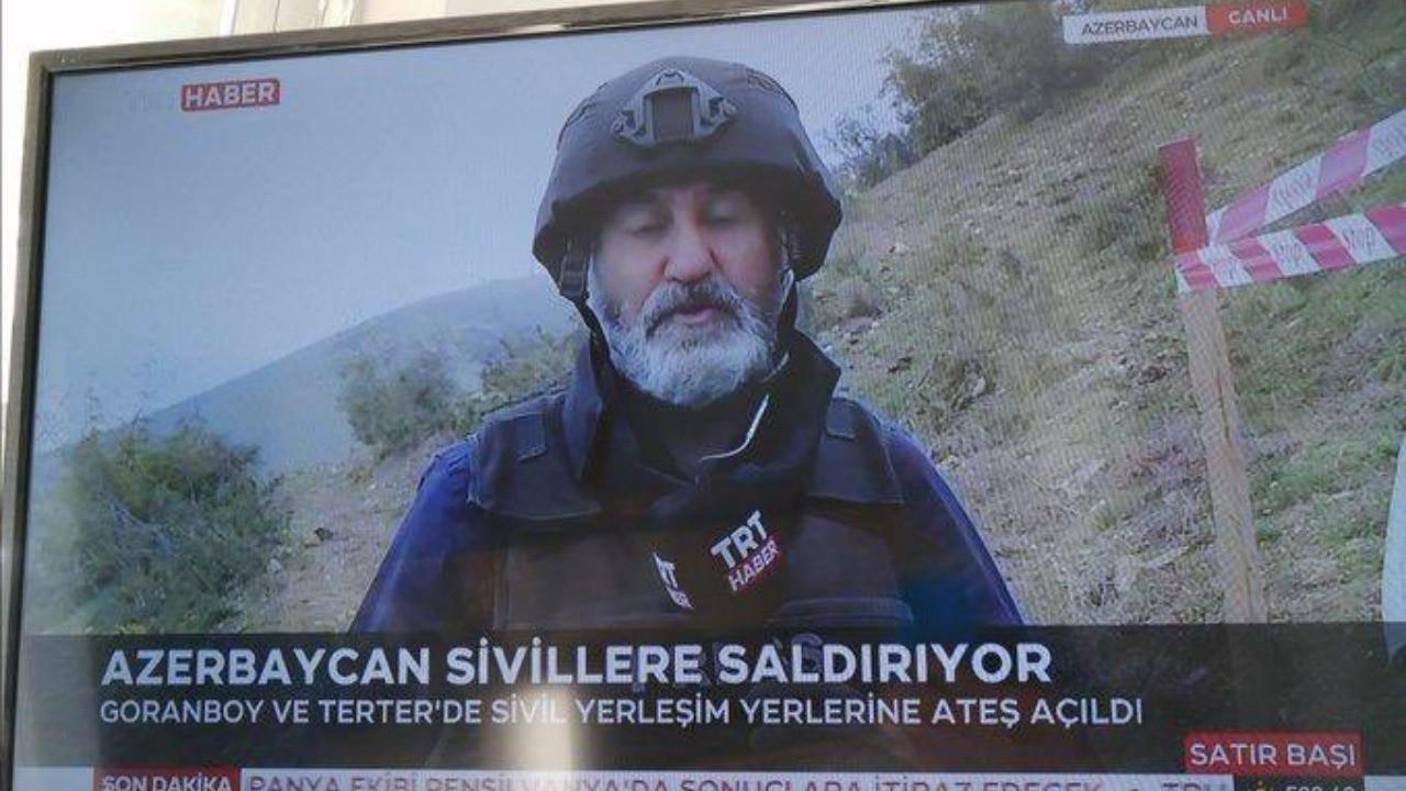 TRT ekranında skandal KJ!