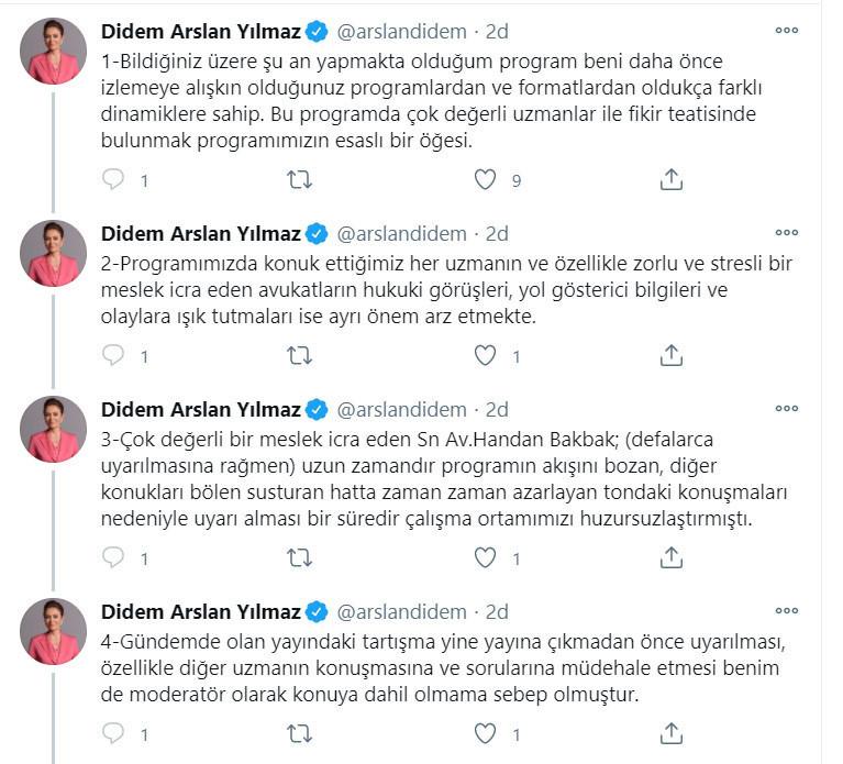 Didem Arslan Yılmaz'dan flaş açıklama: İşimi bu şekilde harcatmam