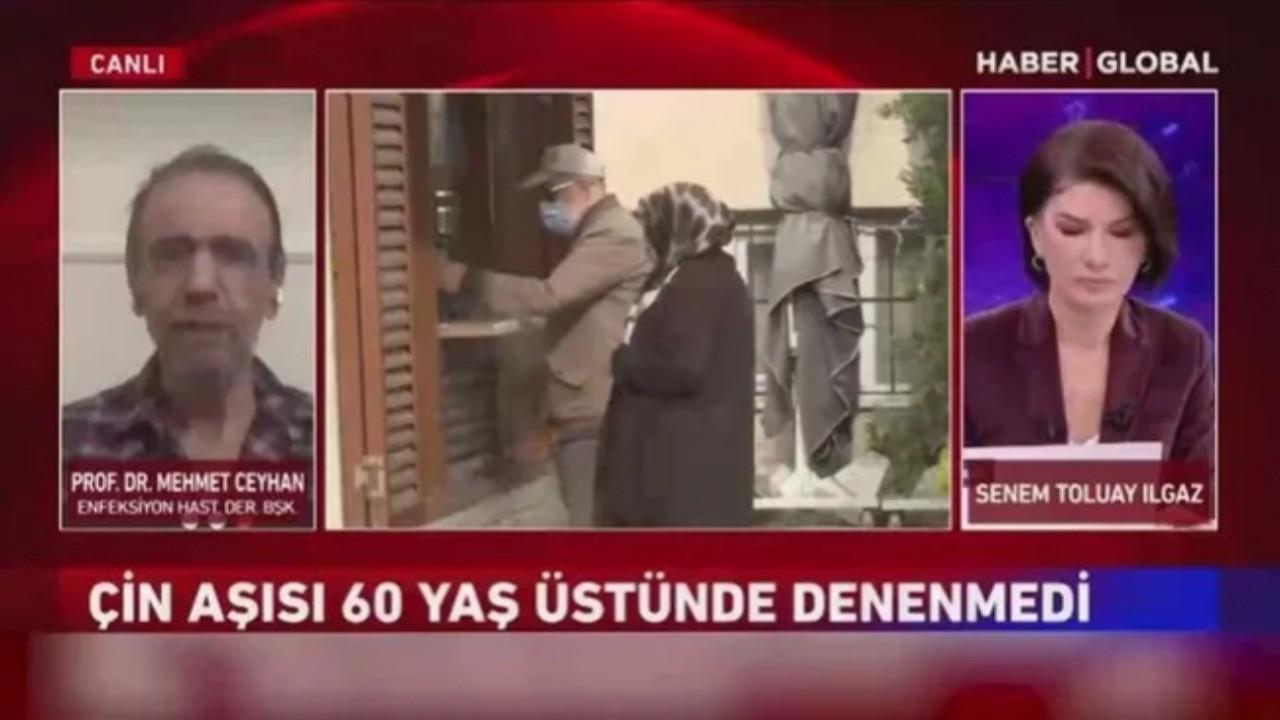 Prof. Dr. Mehmet Ceyhan'dan Çin aşısıyla ilgili flaş açıklama!