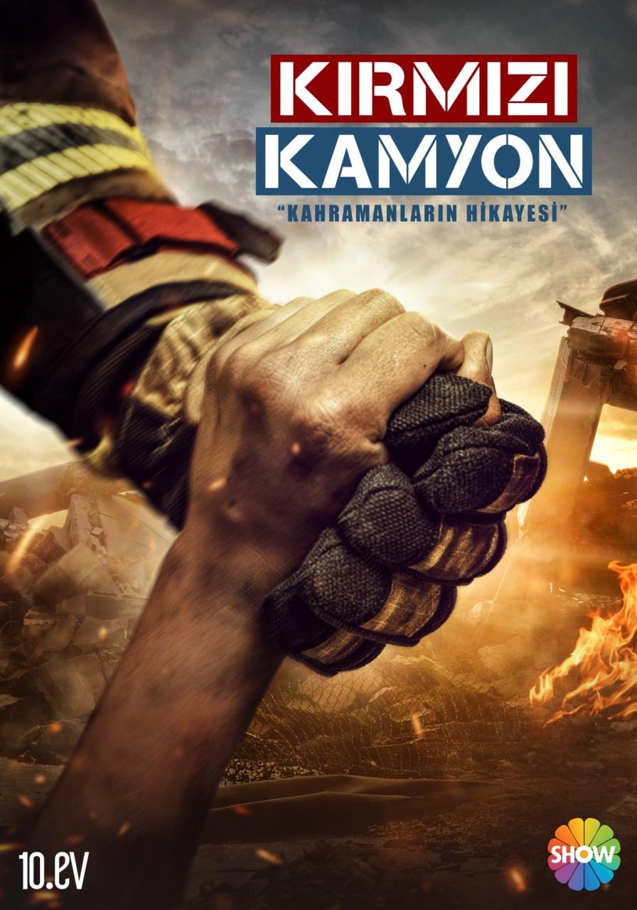Kırmızı Kamyon dizisinin teaser afişi yayınlandı