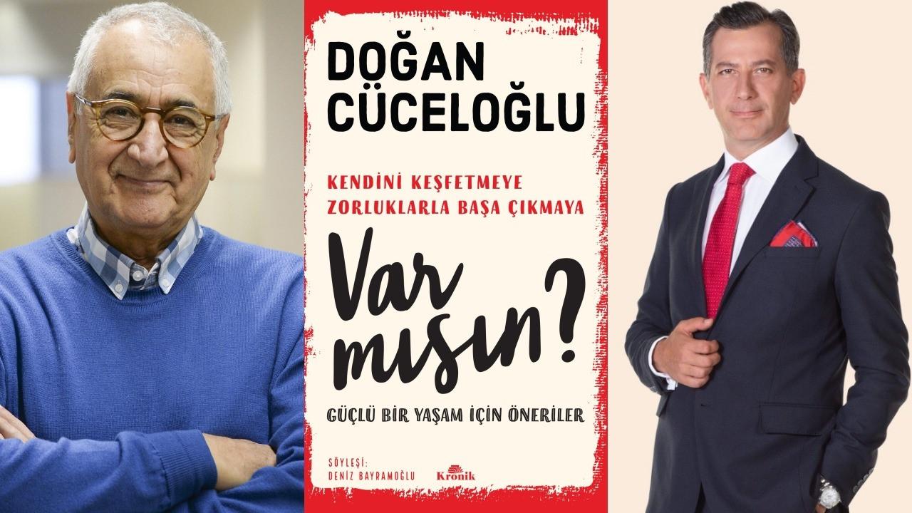 Deniz Bayramoğlu'nun Doğan Cüceloğlu ile yaptığı söyleşi kitabı çıktı