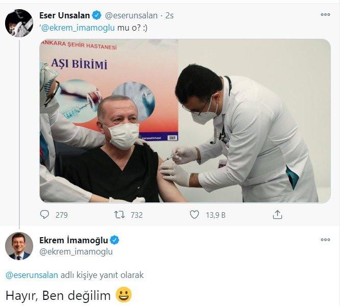 Erdoğan'ın aşı fotoğrafı sosyal medyayı salladı!
