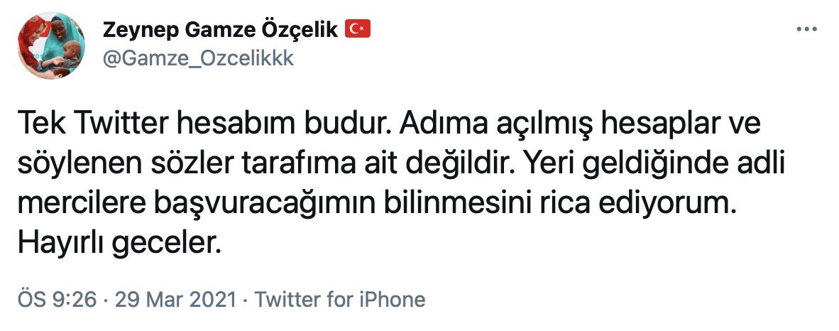 İstanbul Sözleşmesi'yle ilgili hiçbir açıklamam yoktur