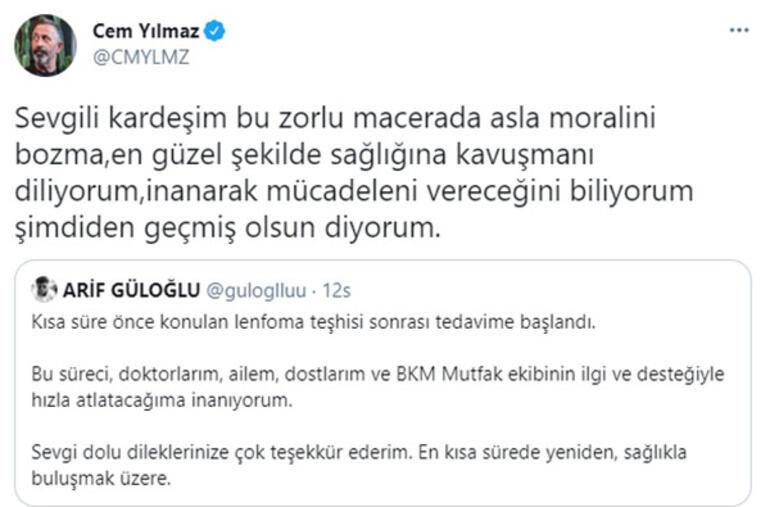 Cem Yılmaz'dan kansere yakalanan ÇGH2 oyuncusu Arif Güloğlu'na destek!
