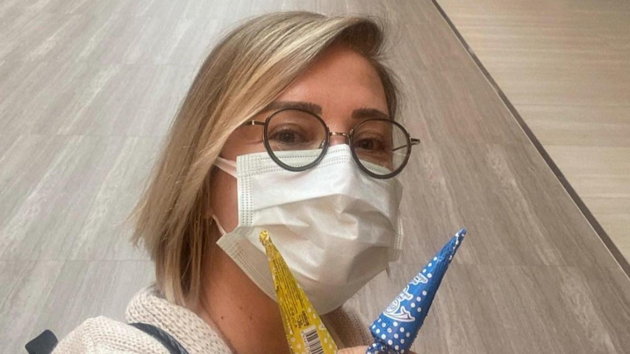 Ünlü oyuncu Berna Laçin'e 'aşı' tepkisi: Sana nasıl sıra geldi?