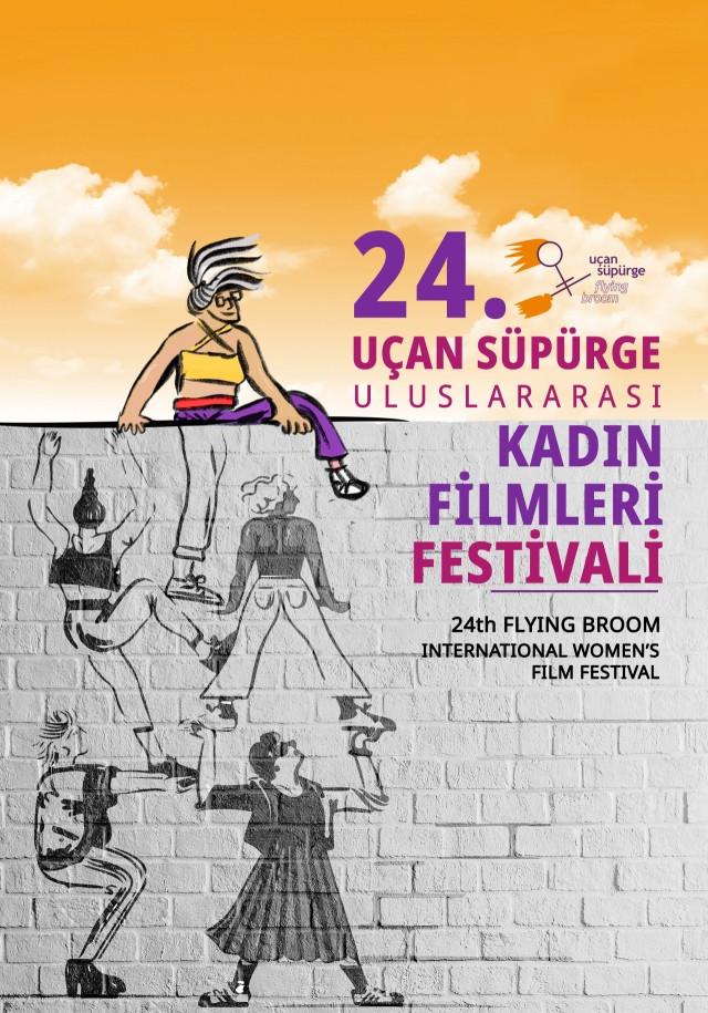 Uçan Süpürge Uluslararası Kadın Filmleri Festivali afişi hazır!