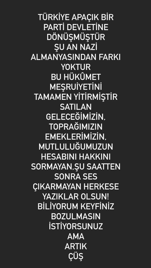 """""""Türkiye'nin şu an Nazi Almanya'sından farkı yok!"""""""