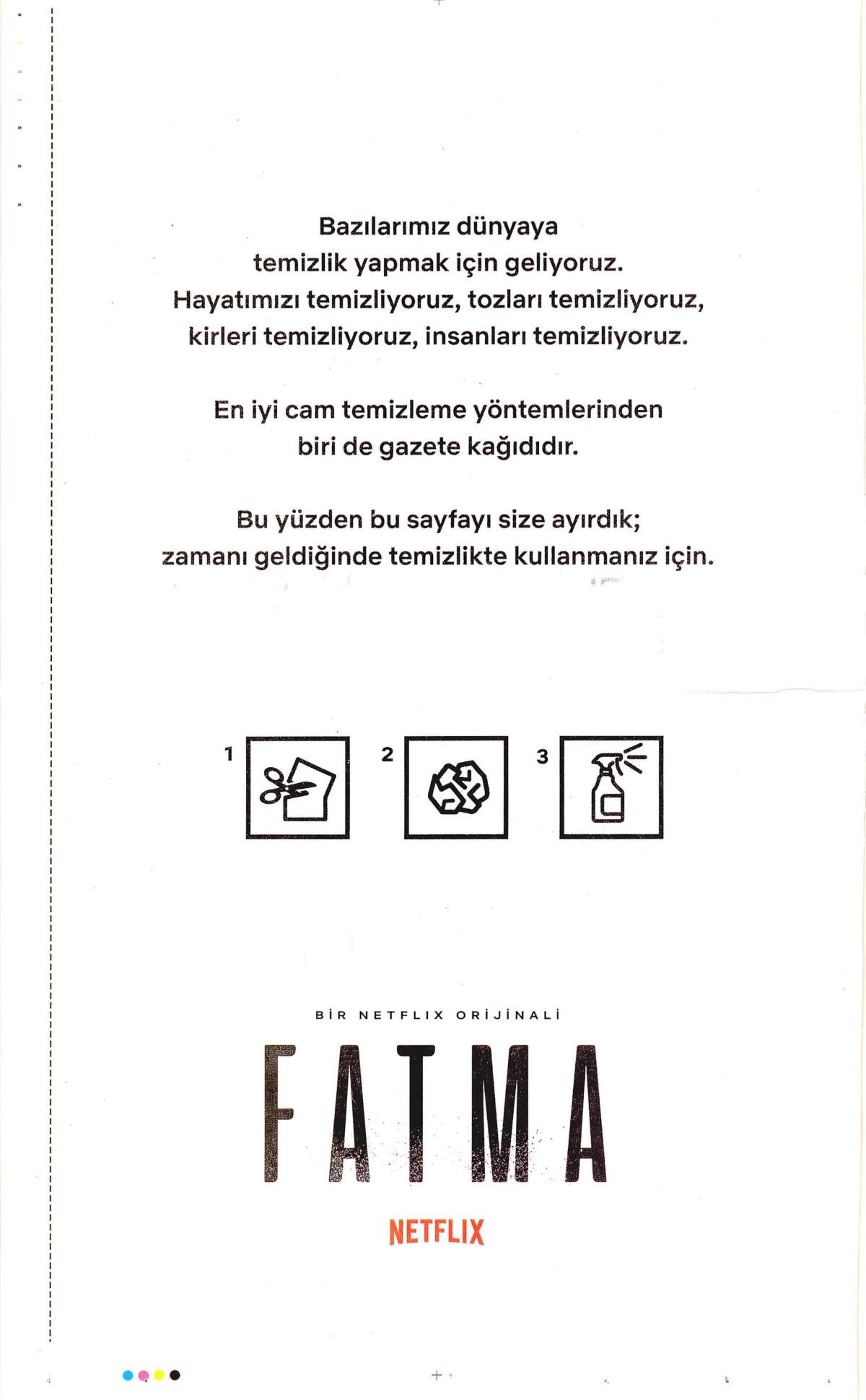Fatma'nın ilanı tartışma yaratacak!