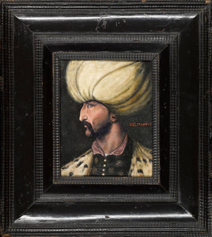 Rekor fiyata satılan Kanuni portresi İBB'ye bağışlandı