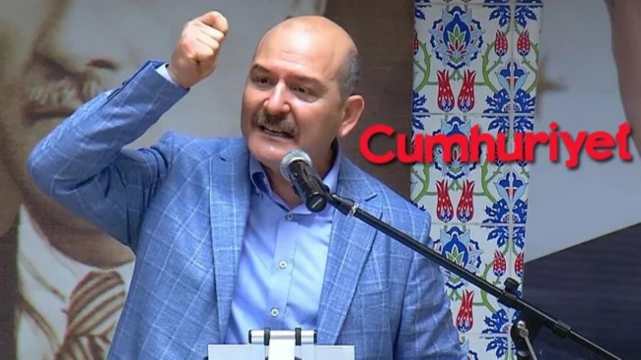 Süleyman Soylu'dan Cumhuriyet gazetesine tepki: Hesabını vereceksiniz