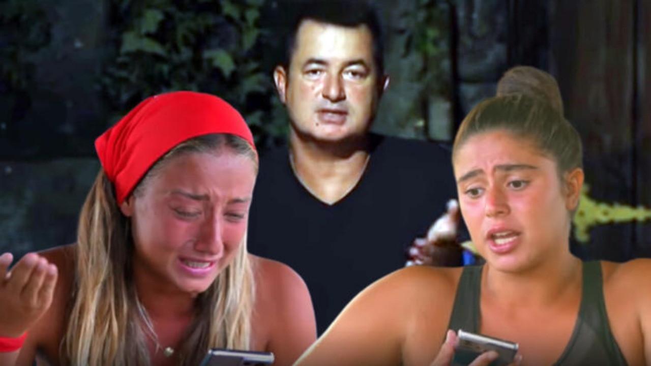 Acun Ilıcalı isyan etti! Survivor Aleyna ve Ayşe aileleriyle görüştü