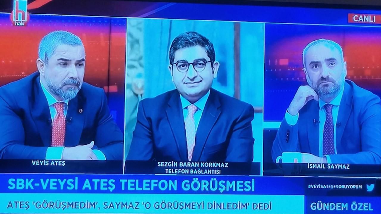 Veyis Ateş Halk TV ekranlarında Sezgin Baran Korkmaz'la karşı karşıya geldi.