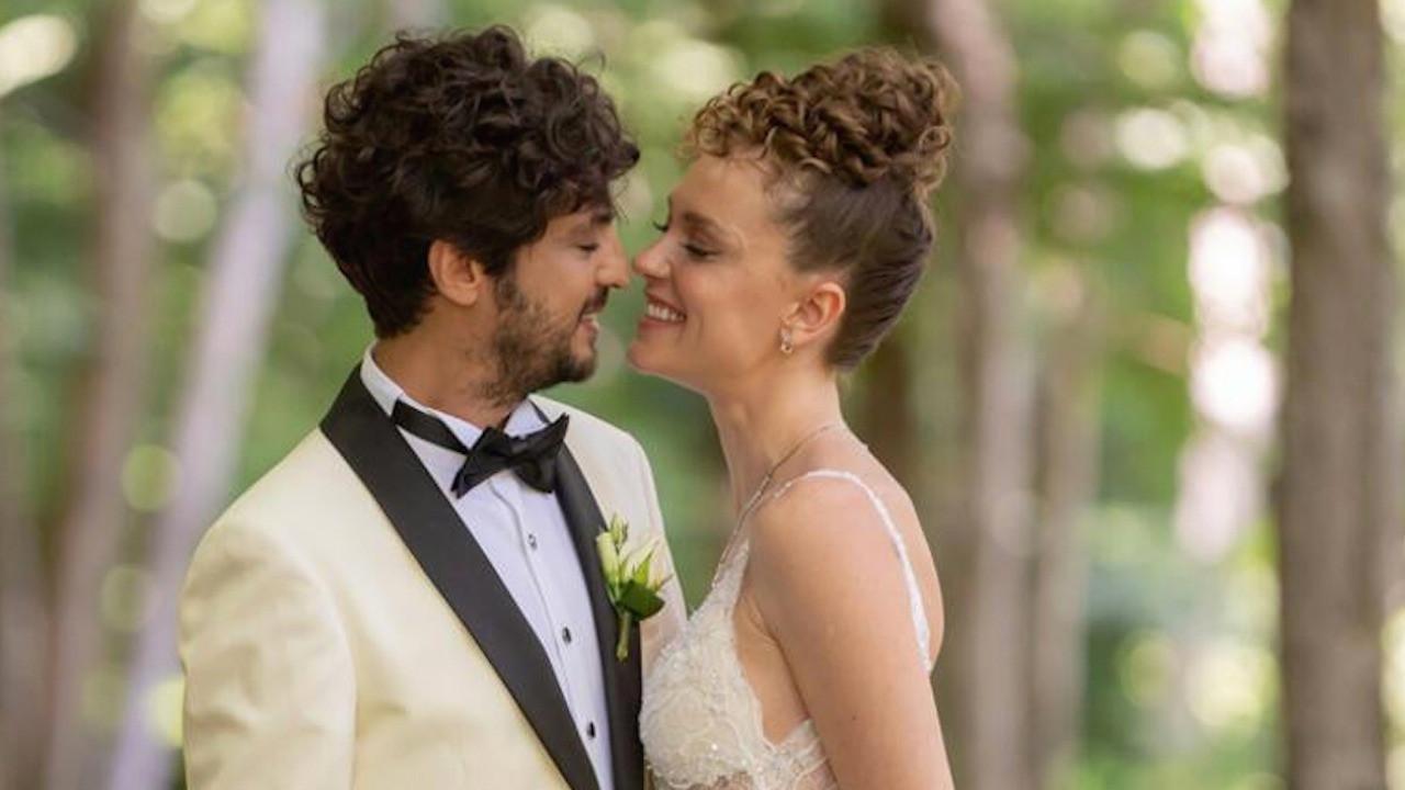 Mucize Doktor'un Ali Vefa'sı Taner Ölmez ve Ece Çeşmioğlu evlendi... İşte düğünden ilk fotoğraflar...
