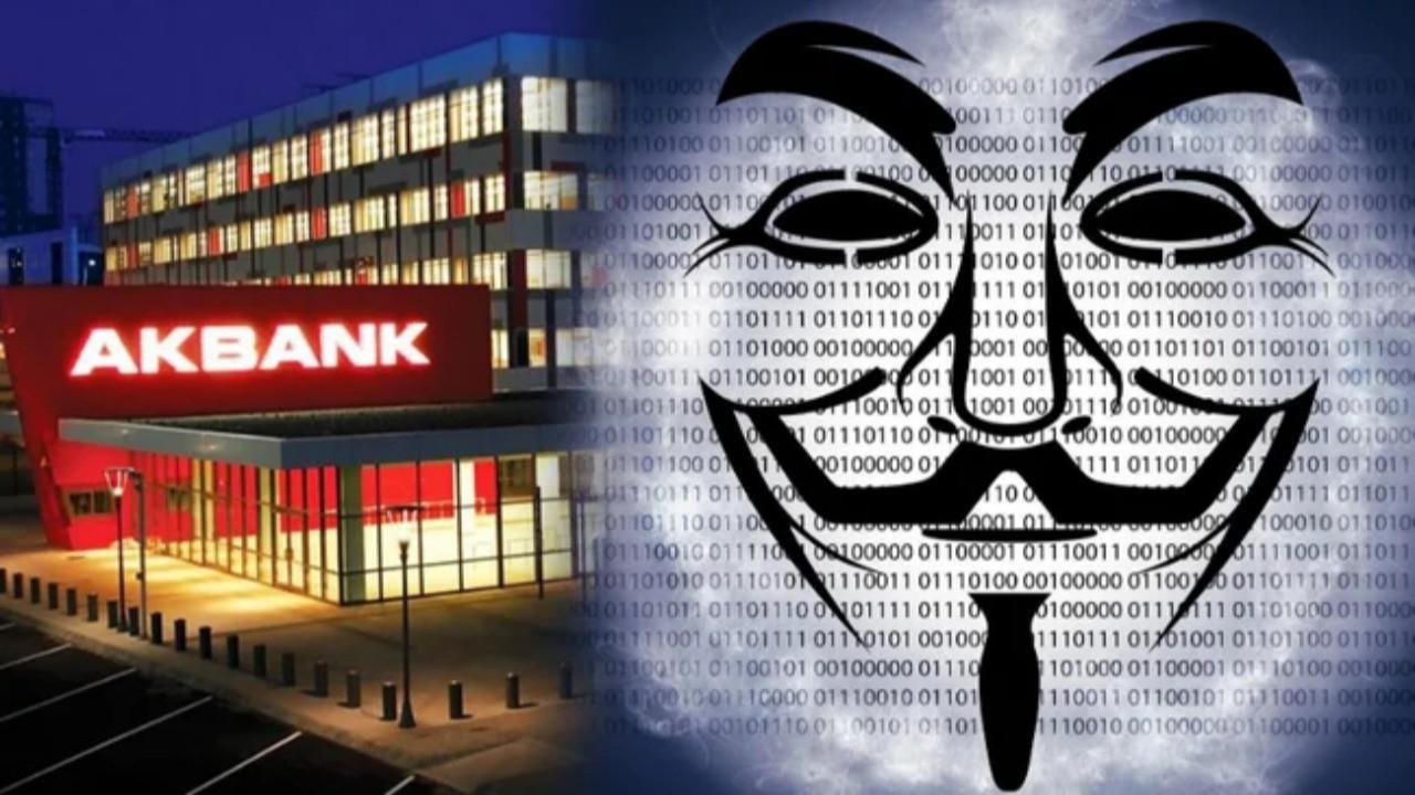 Anonymous'tan flaş 'Akbank' açıklaması! 'Biz saldırmadık fakat…'
