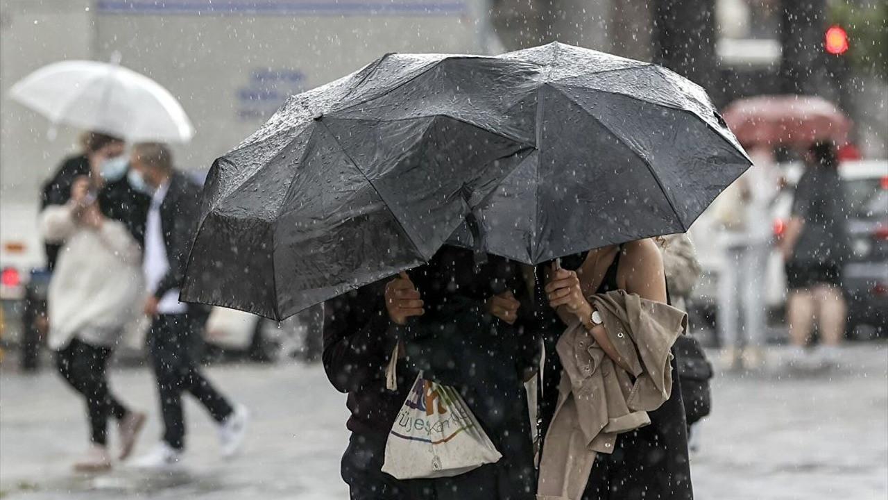 Meteoroloji uyardı! Bu 4 il için kuvvetli yağış