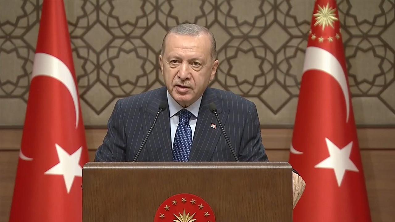 Cumhurbaşkanı Erdoğan'dan kritik 2023 mesajları