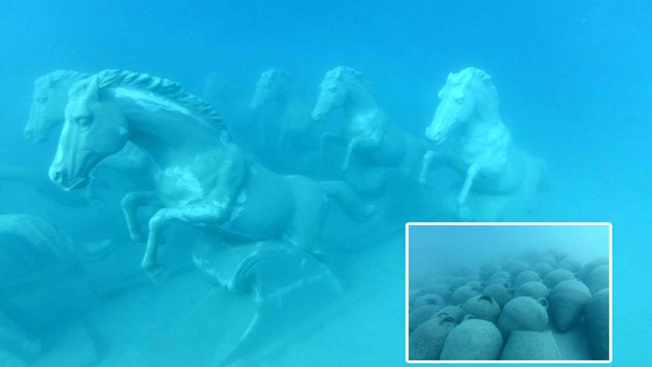 Kaş'ta 6 bin yıllık tarih, su altında buluşuyor