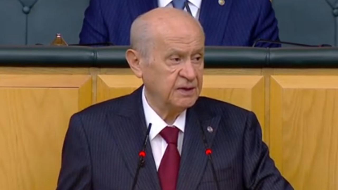 MHP Genel Başkanı Devlet Bahçeli parti grup toplantısında konuştu, Kemal Kılıçdaroğlu'na 4 soru sordu